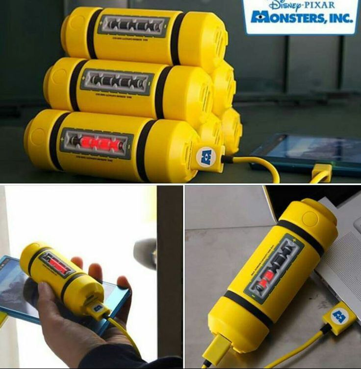 Disney Monsters Power Bank