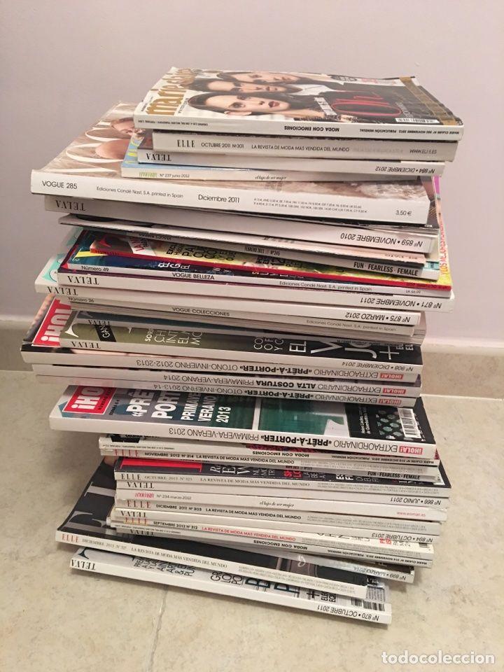Lote de 43 revistas de moda. Telva, Hola, Elle, Marie Claire, Vogue. 2011, 2014, 2013 - Foto 1