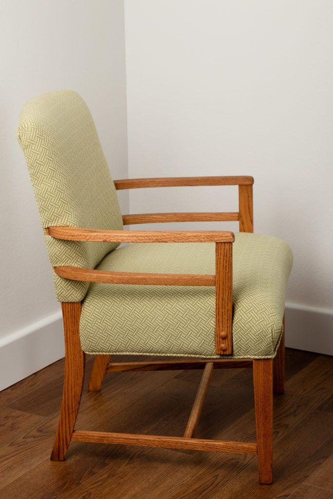 Beau Vintage Chair Restoration, Upholstery, Art Deco Style, Greenbelt Maryland