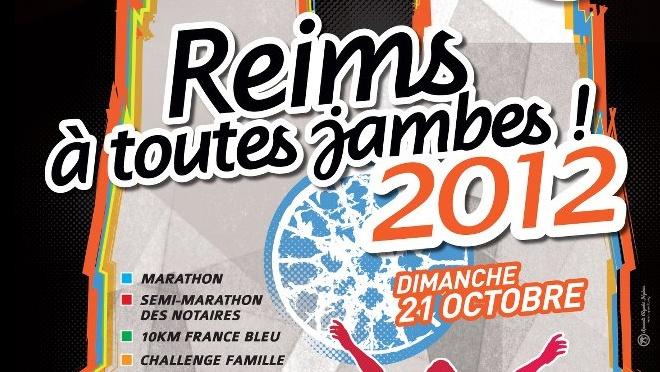 """Le marathon """"Reims à toutes jambes"""" - le 21 octobre 2012 - France3 Champagne-Ardenne"""