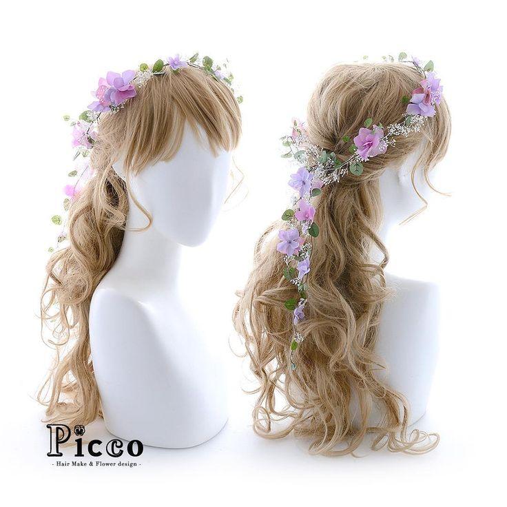 Gallery 373 . Order Made Works Original Hair Accessory for WEDDING . ⭐️結婚式髪飾り⭐️ . 小花とかすみ草でほどこした、華奢なリーフの花冠ふう✨ 真っ白なウェディングドレスに合わせて、頭周りをパープルカラーのアクセントで素敵に魅せる . #Picco #オーダーメイド #髪飾り . . #パープル #小花 #可愛い #花冠 #ウェディングヘア . デザイナー @mkmk1109 .. . . #ブライダル #ウェディング #ウェディングドレス #カラードレス #ヘアアクセ #ヘッドアクセ #ヘッドドレス #花飾り #造花 #結婚式髪飾り #結婚式髪型 #結婚式ヘア #前撮り #プレ花嫁 #花嫁 #二次会 #パーティー #お披露目 #披露宴 #mery #marry #flowercrown