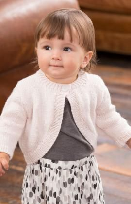 Perfect Princess Shrug Free Knitting Pattern from Red Heart Yarns
