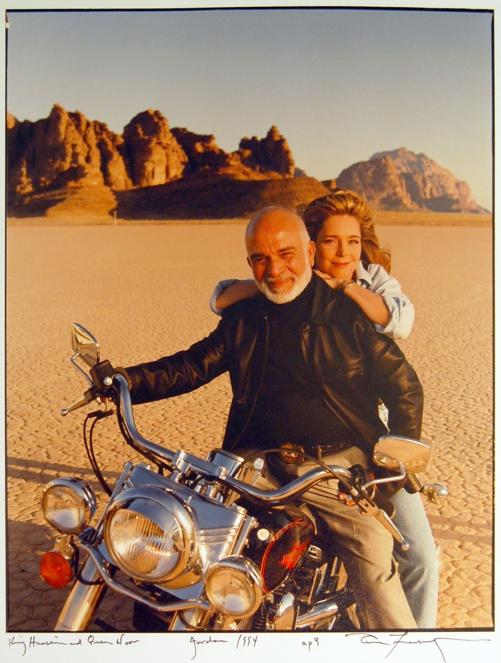 King Hussein and Queen Noor, Jordan, married 1978-1999 his death/ 21 years
