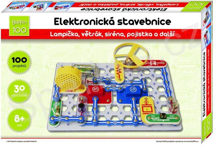Boffin elektronická stavebnice