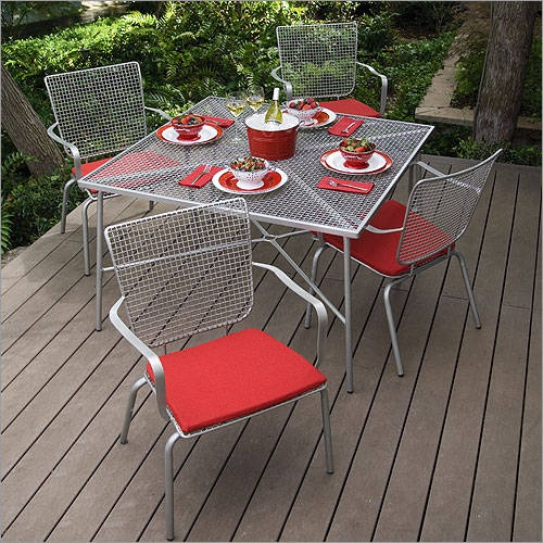 Marvelous Cute Wrought Iron And Mental Mesh Furniture.(In Case Yu0027all Donu0027t Know,  Wrought Iron Is One Of The Most Durable Materials For Outdoor Furniture.