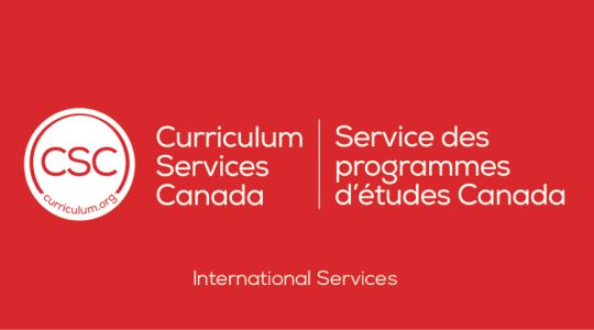 Curriculum Services Canada - International Services