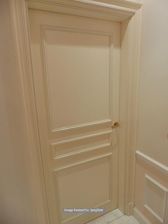 Lot 1249 - A white elegant solid core internal panel door 720mm x 2000mm x 45mm