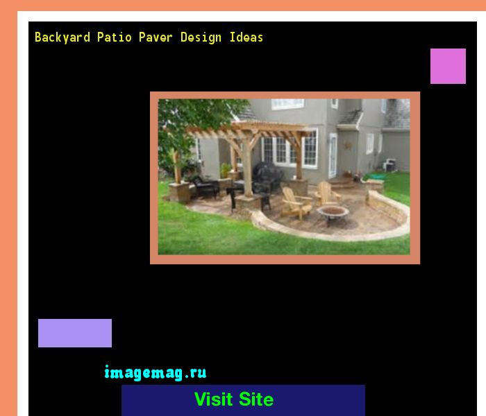 Backyard Patio Paver Design Ideas 141021 - The Best Image Search