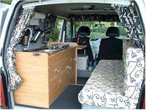 Suzuki Carry conversion to micro campervan.