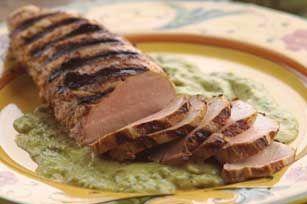Perfectly Grilled Pork Tenderloin recipe