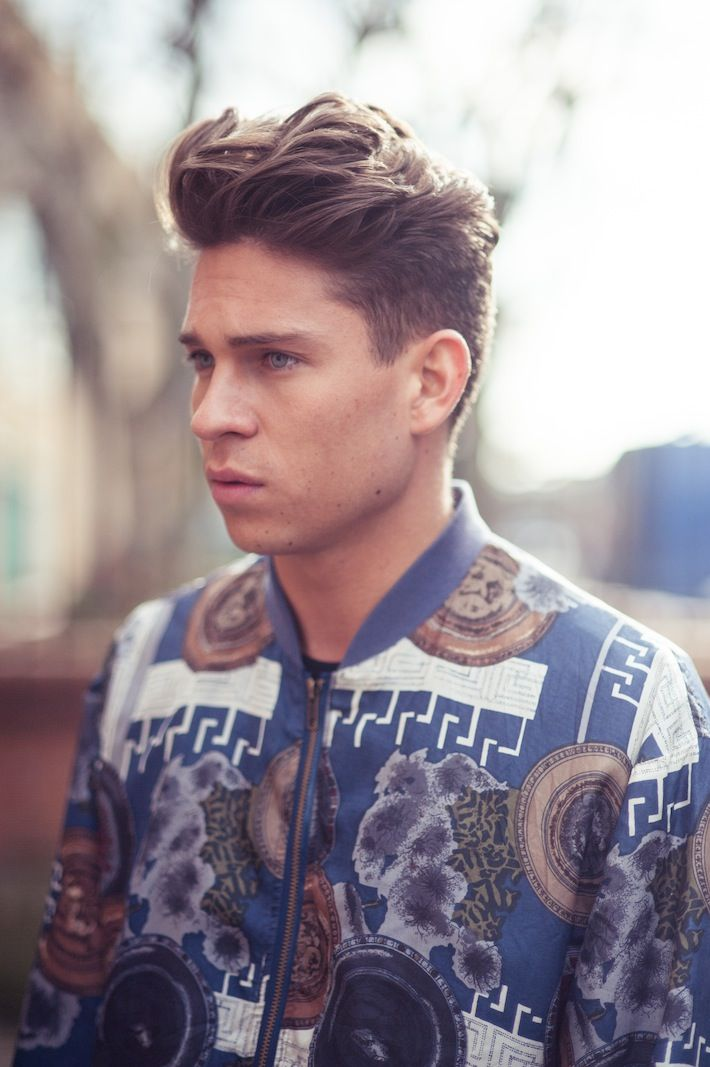 Joey Essex - hair by BLEACH London