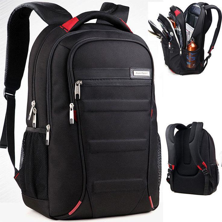 Uomo Impermeabile 15   16   17   Laptop Bag Zaino Viaggio Da Trekking