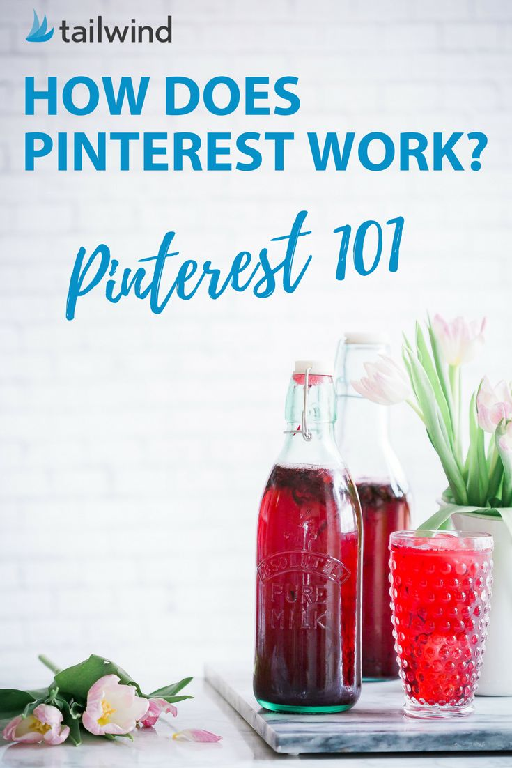 "How does Pinterest Work? A primer for Pinterest beginners. From ""What's a Pin?"" to ""How does Pinterest work for businesses,"" we're covering all the basics! via @tailwind"