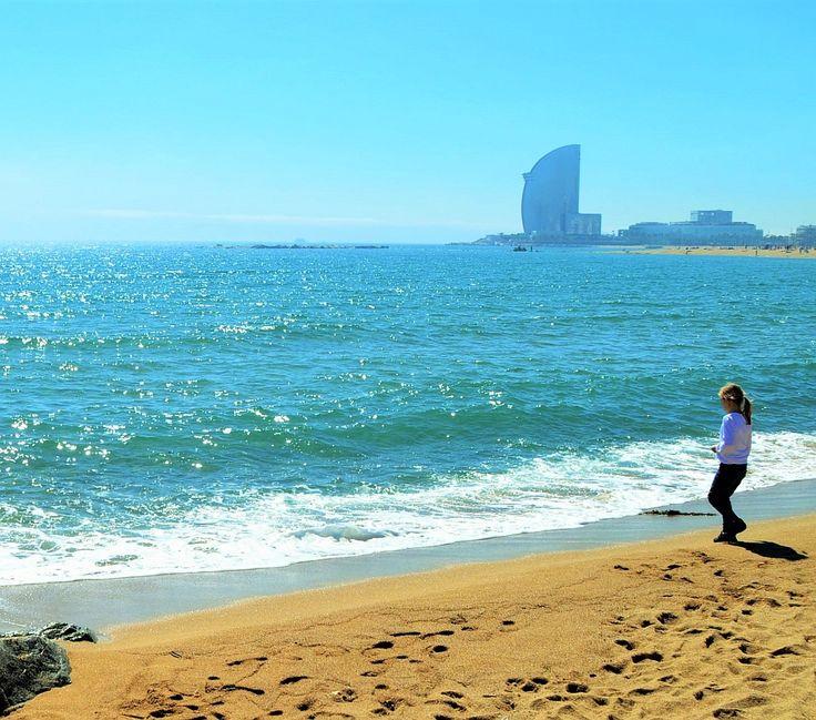 #Barcelona mit Kindern: Strandurlaub und Städtetrip in einem. Ideal!  #Städtereise #ReisenmitKind #Spanien