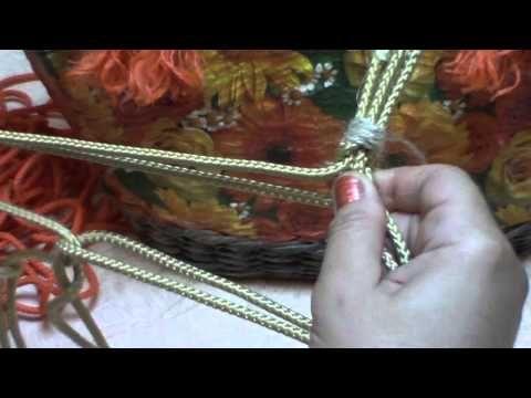 Варианты ручек для плетёных сумок. Часть 11. - YouTube
