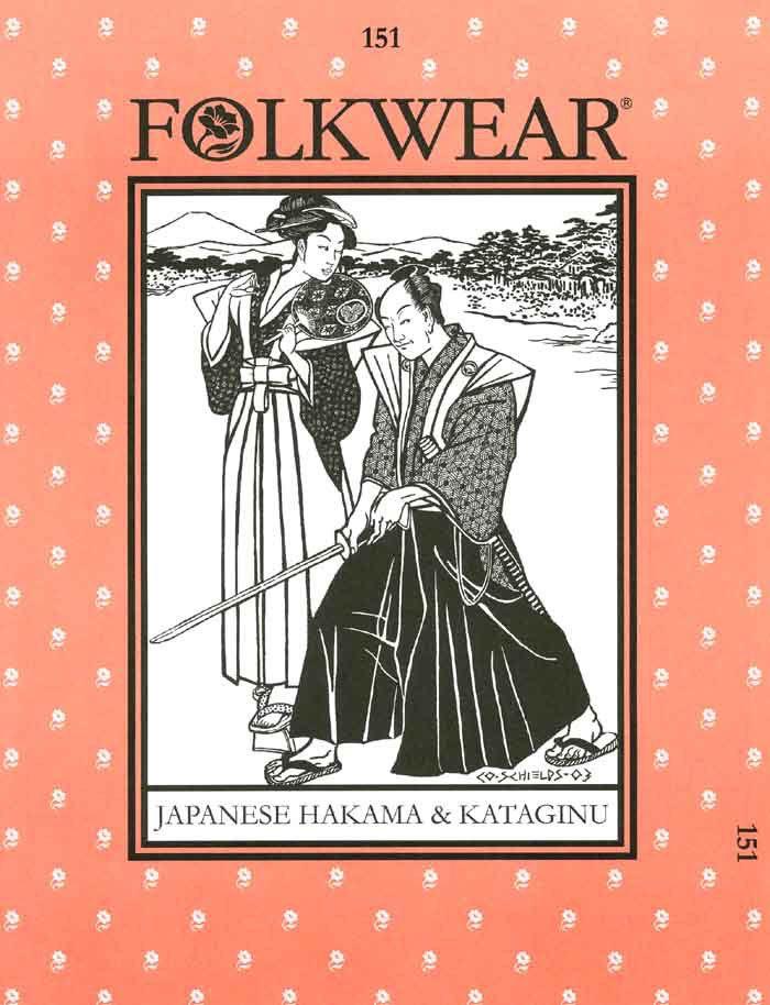Patterns - Folkwear #151 Japanese Hakama & Kataginu