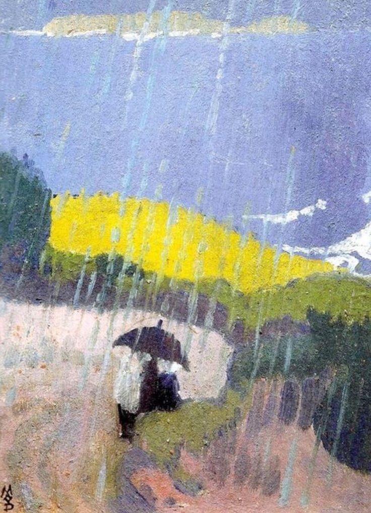 Maurice Denis, Pluie en Bretagne
