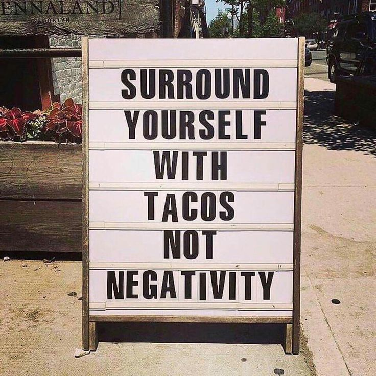 quotation letters format%0A Surround yourself with tacos not negativity
