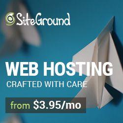 Web Hosting. Why I Love Siteground For Hosting My Blog.