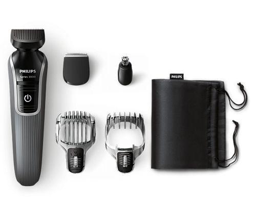 Multigroom series 3000 Tondeuse barbe et cheveux 5 en 1 QG3334/15   Philips