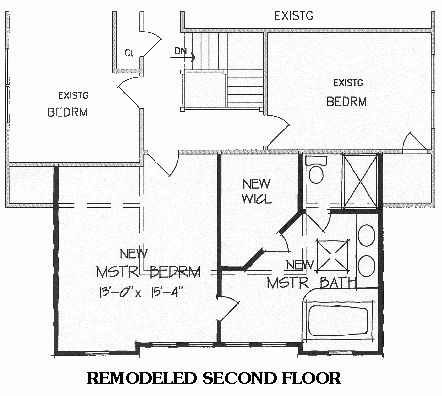 Master Suite Addition Plans | New Master Suite (BRB17) House Plan   5177