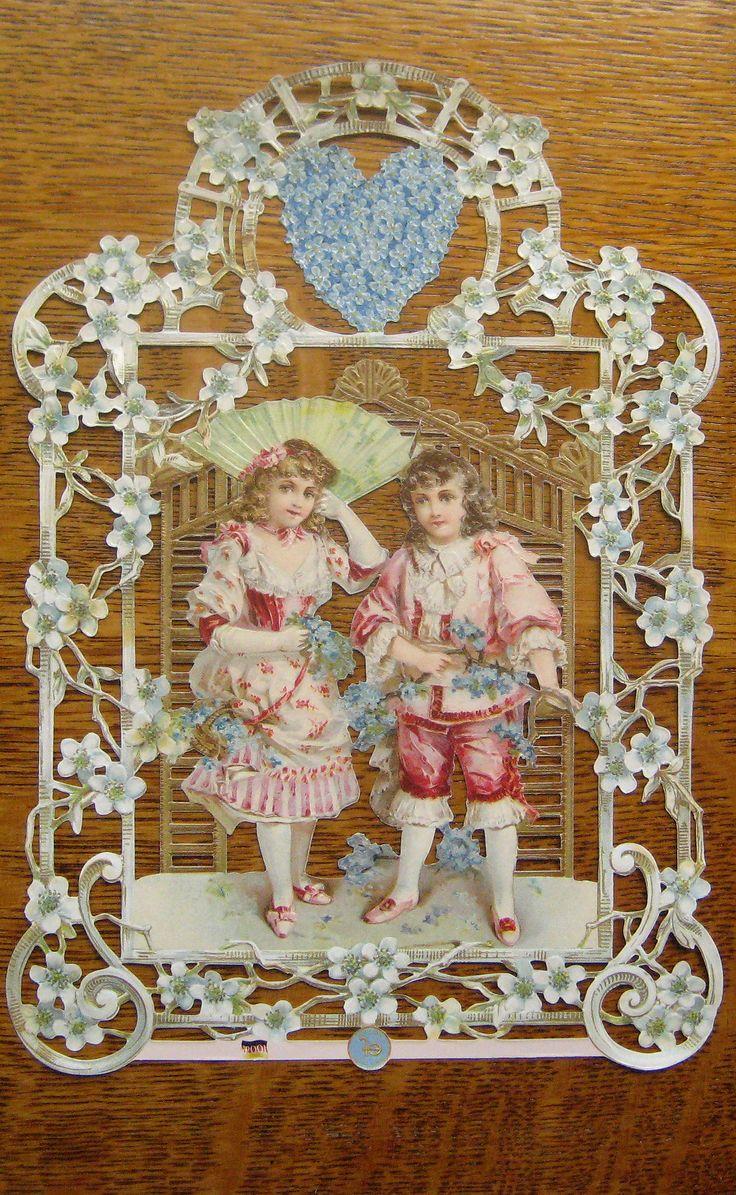 19 Best Images About Antique Die Cut Edwardian Victorian