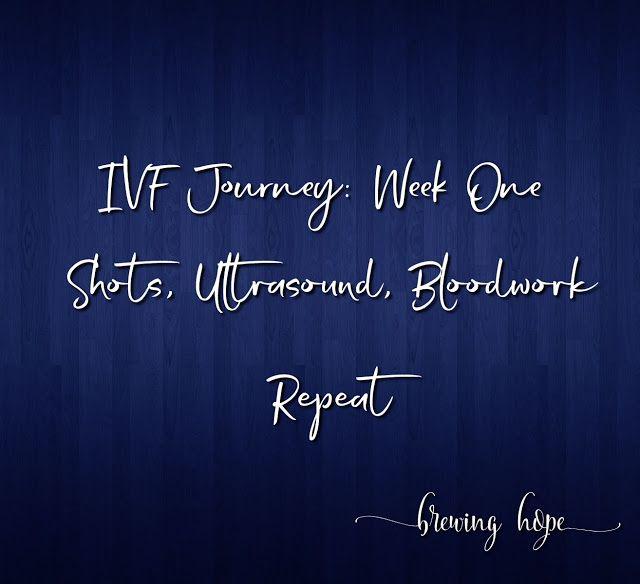 Week 1 of an IVF Cycle