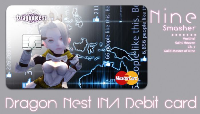 Dragon Nest INA Debit Card