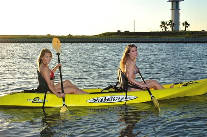 South Padre Island Single or Double Kayak Rentals Kayak rentals are a perfect and easy way to get out on the water on South Padre Island. You can choose from 1- or 2-person standard kayaks with either morning or afternoon rental, depending on your schedule. Then take off right from the private dock!   These kayaks are great for first-timers, as the wide hulls are stable and easy to learn on. The rental process could not be simpler! There is no heavy lifting in...