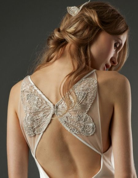 New Elizabeth Fillmore Wedding Dresses: Sexy Backs and Butterflies Galore! : Save the Date