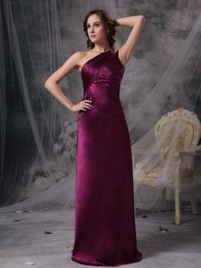 Purple and black dama dresses