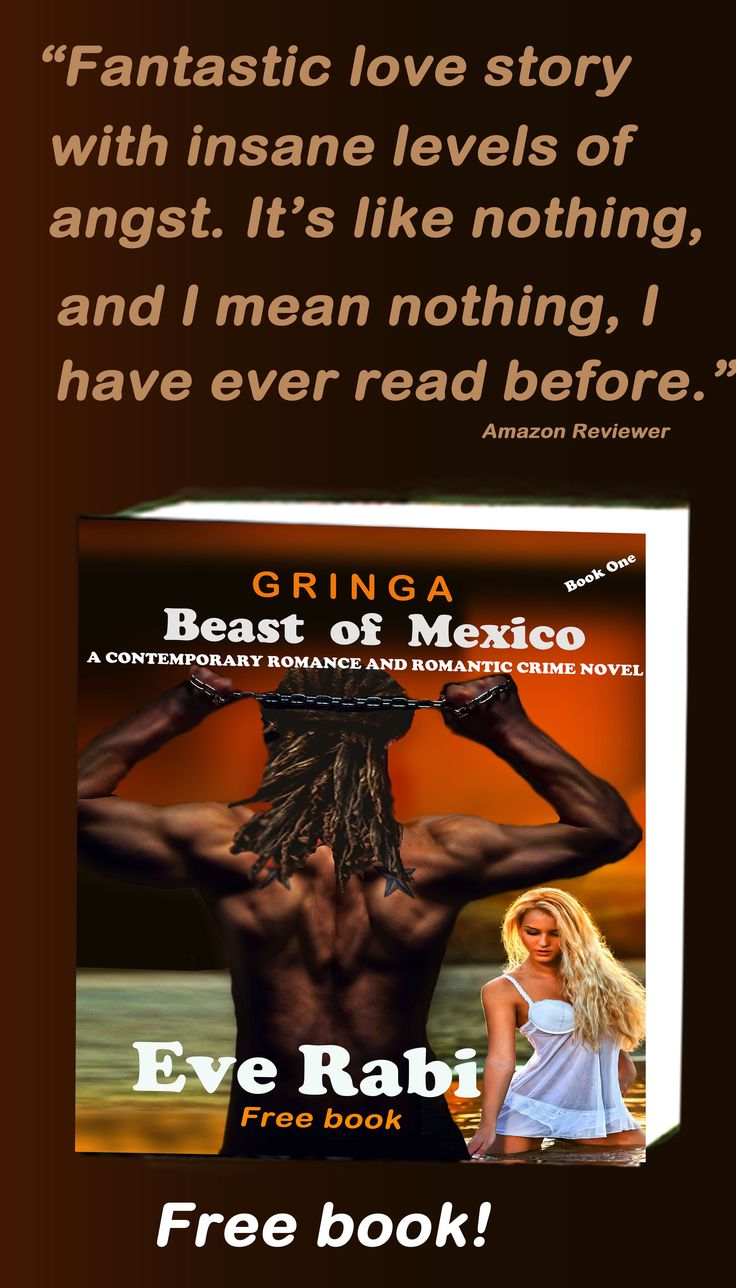"#books #RomanticCrimeNovels #RomanticSuspense #EveRabiAuthor #FreeFiction #Books ..........""I read Gringa in just 7 hours. Didn't get to do any housework! I even had to phone my husband to go get the kids at school."" Amzn reviewer Amazon UK: http://amzn.to/1zMywvZ"