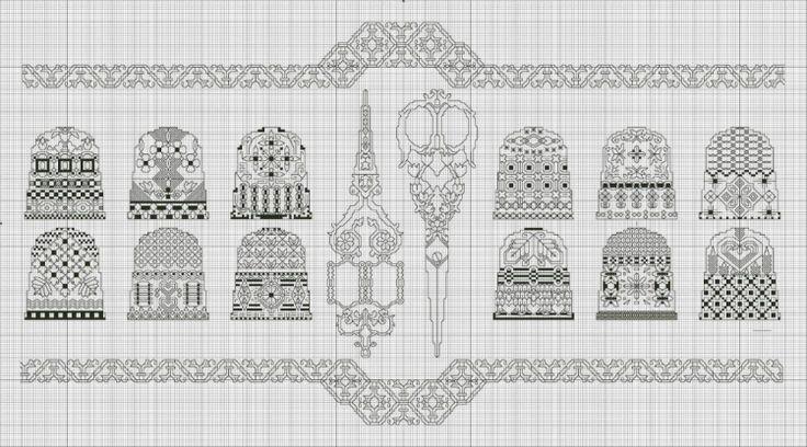 Gallery.ru / Фото #197 - Редкие и красивые схемы (2) - Olgakam
