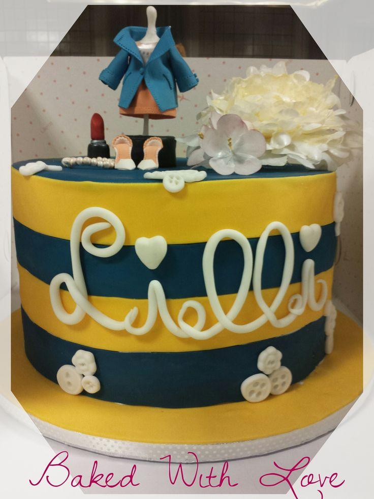 sewing cake Federica Santimaria #BakedWithLove