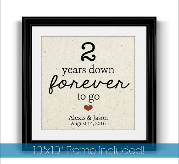 Two Year Wedding Anniversary Ideas: Best 25+ 2 Year Anniversary Gift Ideas On Pinterest