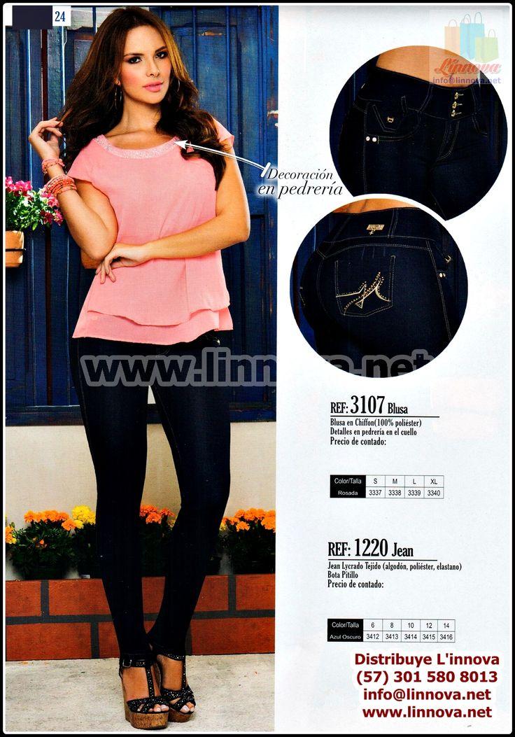 150608 - Catalogos de Ropa Infantil / Jeans - Blusas - Zapatos