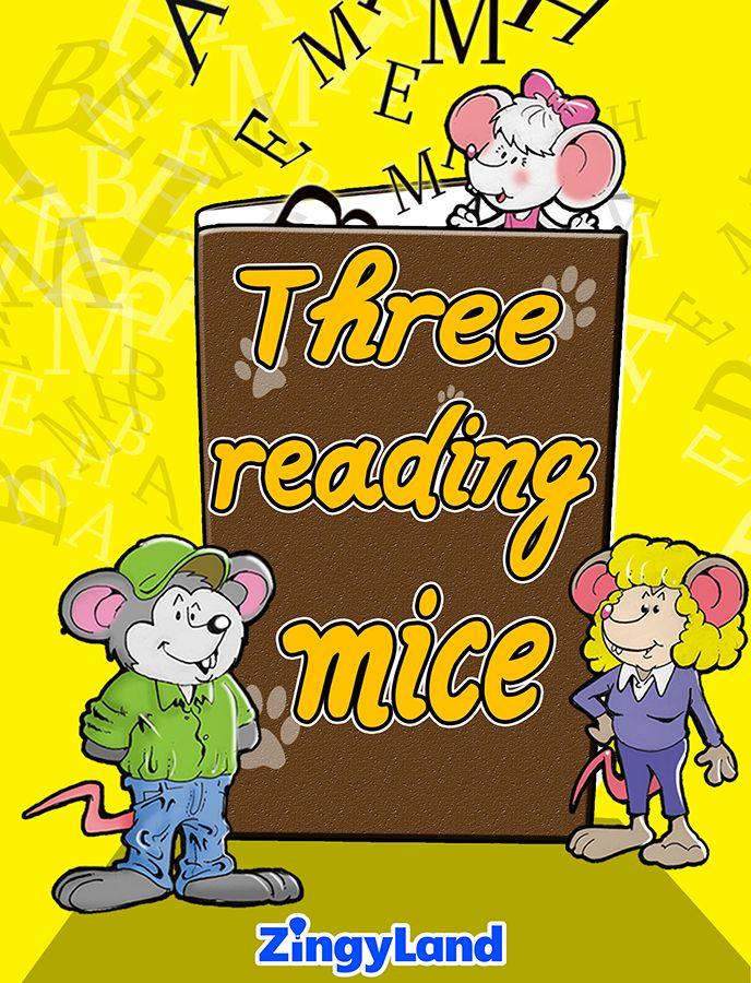 Three reading mice http://youtu.be/Drkmv6gPF6U