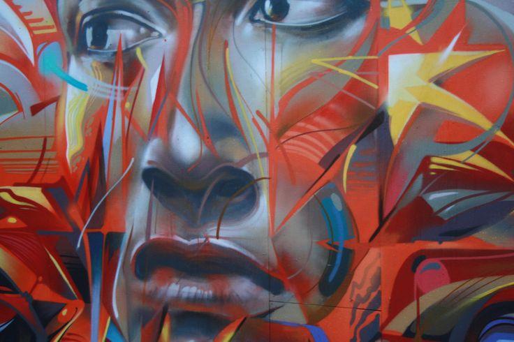 Street art in Auckland - this piece is powerful! #streetart #graffiti