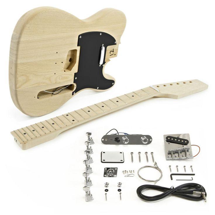 Knoxville E-Gitarren Bausatz, Eschen-Korpus bei Gear4music
