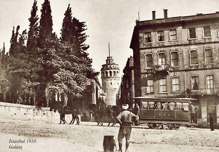İstanbul 1910 Galata