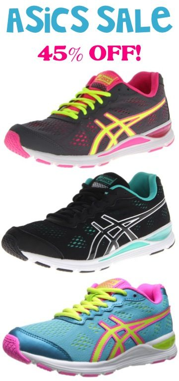 Asics Shoe Sale: 45% off!! #shoes #thefrugalgirls