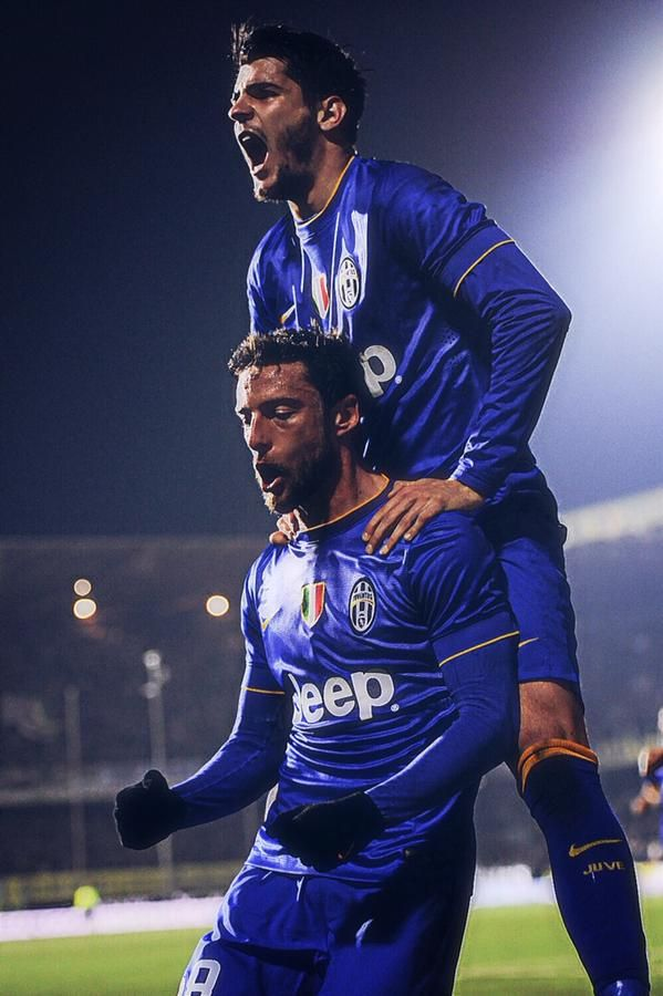 Morata and Marchisio - Juventus