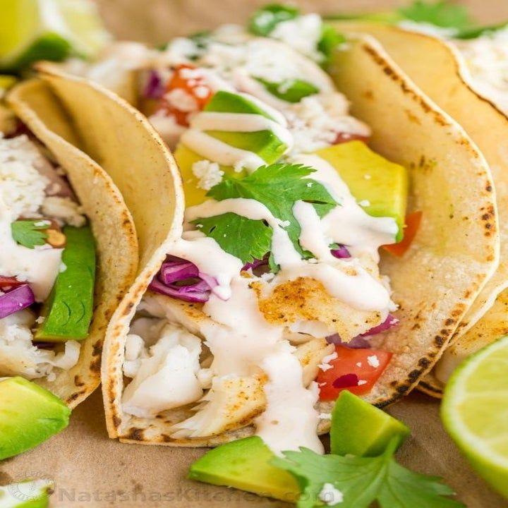 21 Affordable Summer Recipes That Taste Like A Million Bucks Fish Taco Sauce Fish Tacos Recipe Taco Sauce