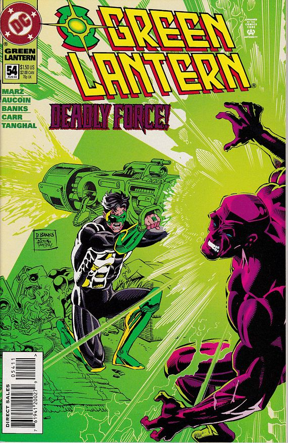 Green Lantern 54 August 1994 DC Comics Grade NM