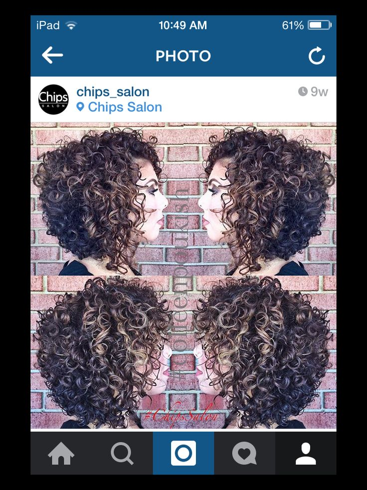 Classic curls, curly hair, texture, inverted bob