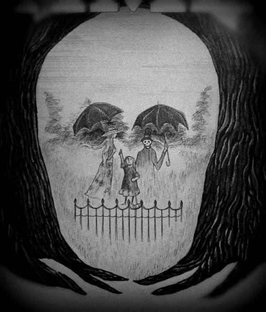 Edward Gorey memento mori