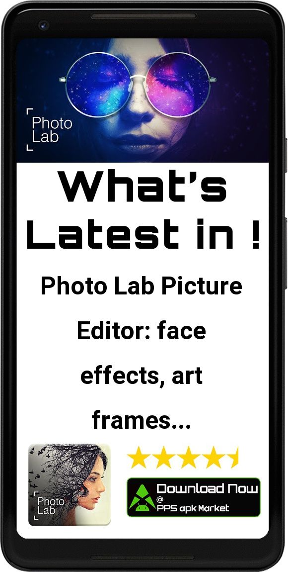 Photo Lab Picture Editor: face effects, art frames App - Free