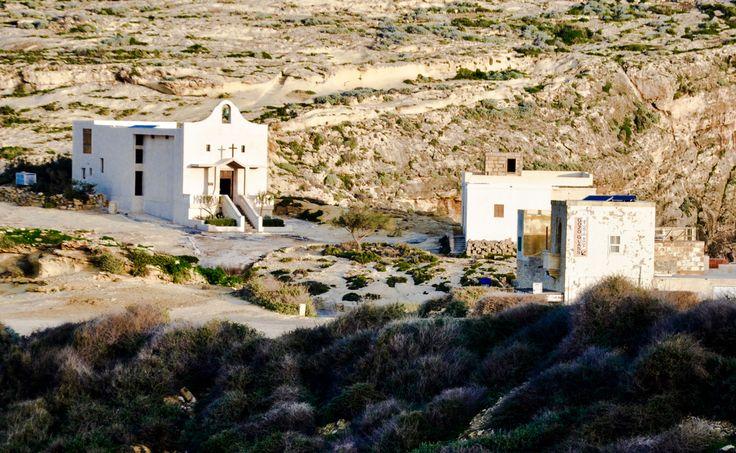 Church - Dwejra - Gozo - Malta - View from rocks