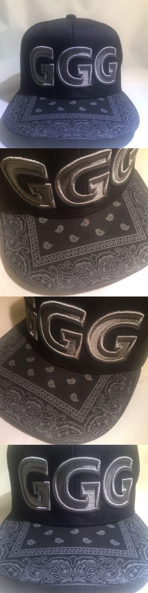 Headbands and Hats 179769: Ggg God Of War Canelo Alvarez Gennady Golovkin Boxing Hat Boxer Snapback Bandana -> BUY IT NOW ONLY: $34.99 on eBay!