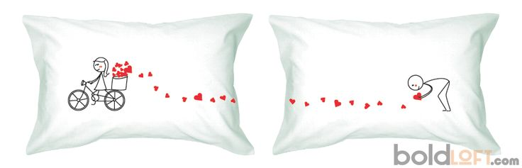 Cute Long Distance Pillow : All My Love For You Couple Pillowcases My love for you, Cute pillows and Distance